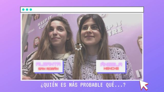 """Albanta San Román y Ángela Henche: """"Llevamos la vida de Hannah Montana"""""""