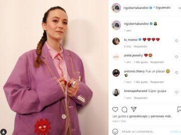 Rigoberta Bandini en Instagram
