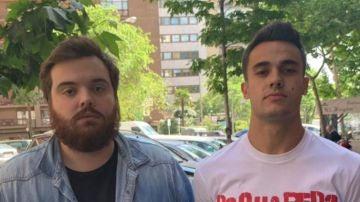 Ibai y Reguilón, en una imagen de 2019