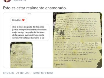 Carta de amor viral