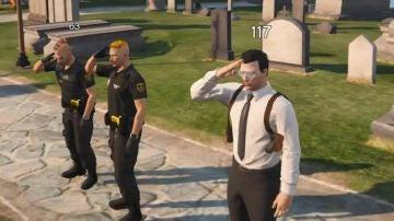 Gustabo, Horacio y Conway, cuando patrullaban juntos