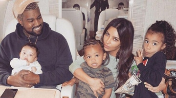 Los West-Kardashian en sus buenos momentos