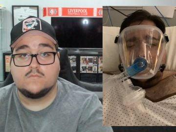El youtuber dentro y fuera del hospital