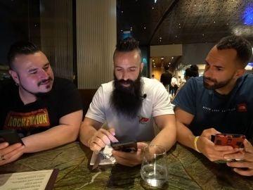 Capitán Jack Enciso, Joe Burgerchallenge y Tano Villar