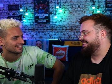 El argentino e Ibai compartiendo stream