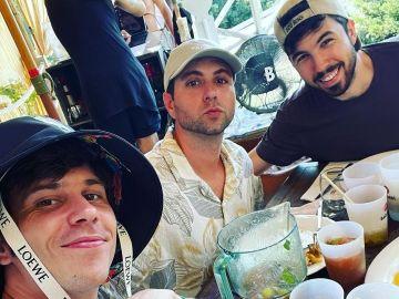 ElRubius, Vegetta y Willyrex en un selfi veraniego