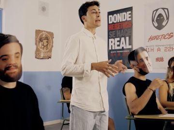 Nil Ojeda en el vídeo promocional de NilCampus