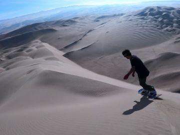 'Sandboardind', el deporte extremo que es cada vez más popular