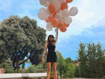 Marta Riumbau en su cumpleaños
