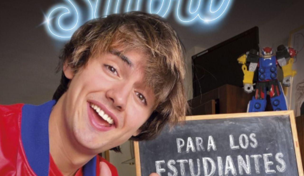 PabloGShow en la portada de su libro