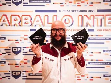 Raúl Navarro, director de 'La Reina del Pueblo', premiado en el Festival Interplay 2021 de Carballo