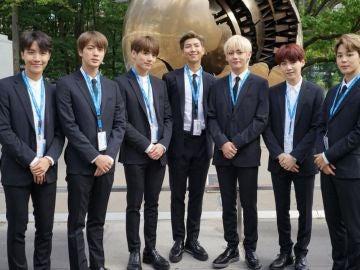BTS en la sede de las Naciones Unidas