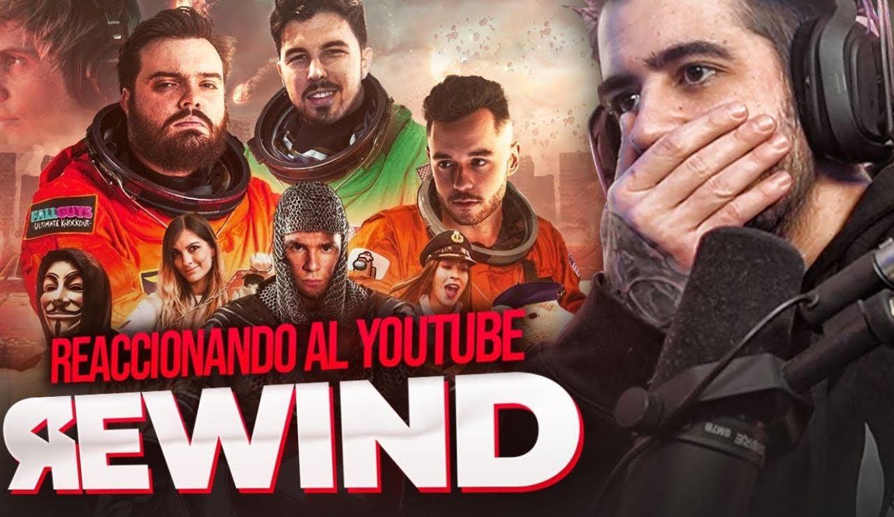 Auronplay reaccionando al Rewind 2020
