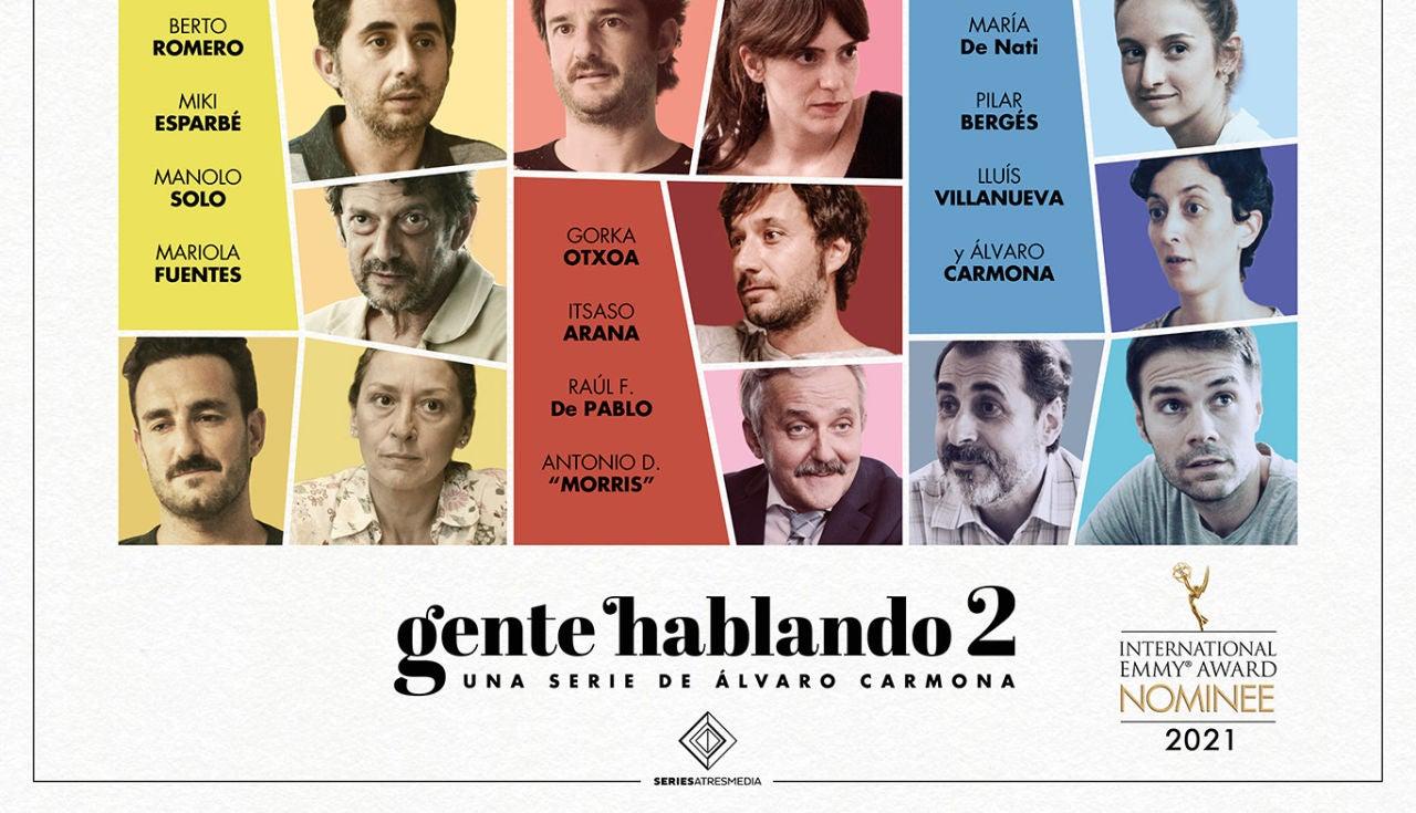 'Gente Hablando', nominada a Mejor serie corta en los Premios Emmy Internacional