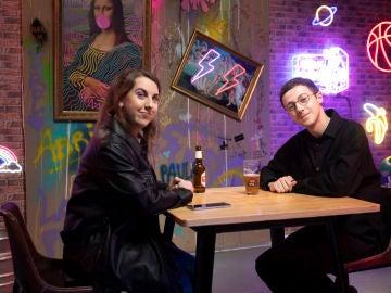 """David Rees a Carolina Iglesias: """"Ya iba siendo hora de que nos tomáramos una cerveza"""""""